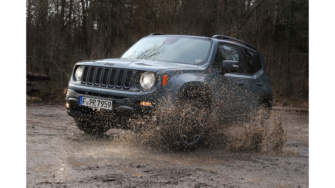 Jeep Renegade Trailhawk, Frontansicht