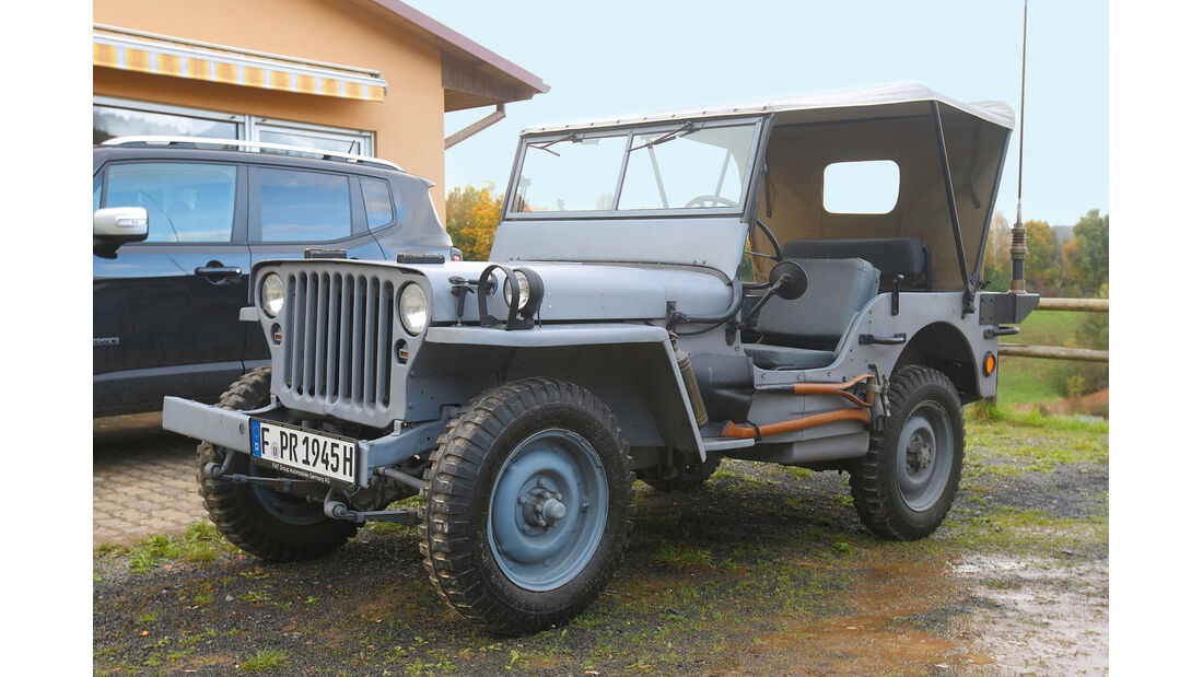 Jeep Renegade, ams 2414, Leserfahraktion, Willys MB
