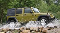 Jeep Wrangler 2.8 CRD, Seitenansicht