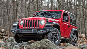 Jeep Wrangler 2018 Europaversion Sperrfrist 28.02.18