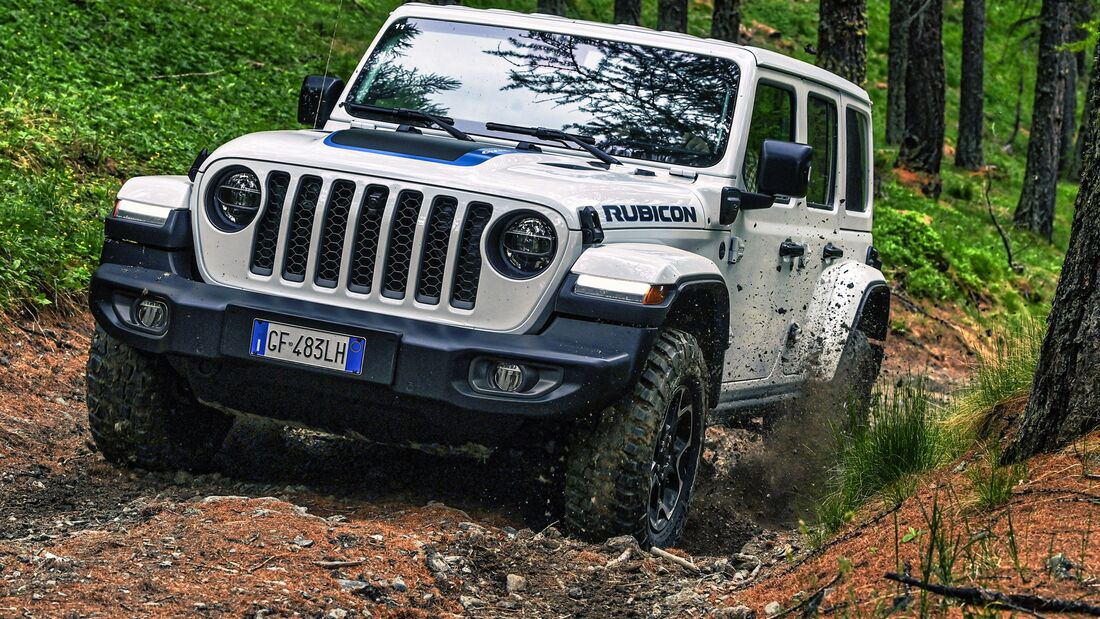 Jeep Wrangler 4Xe Rubicon Fahrbericht