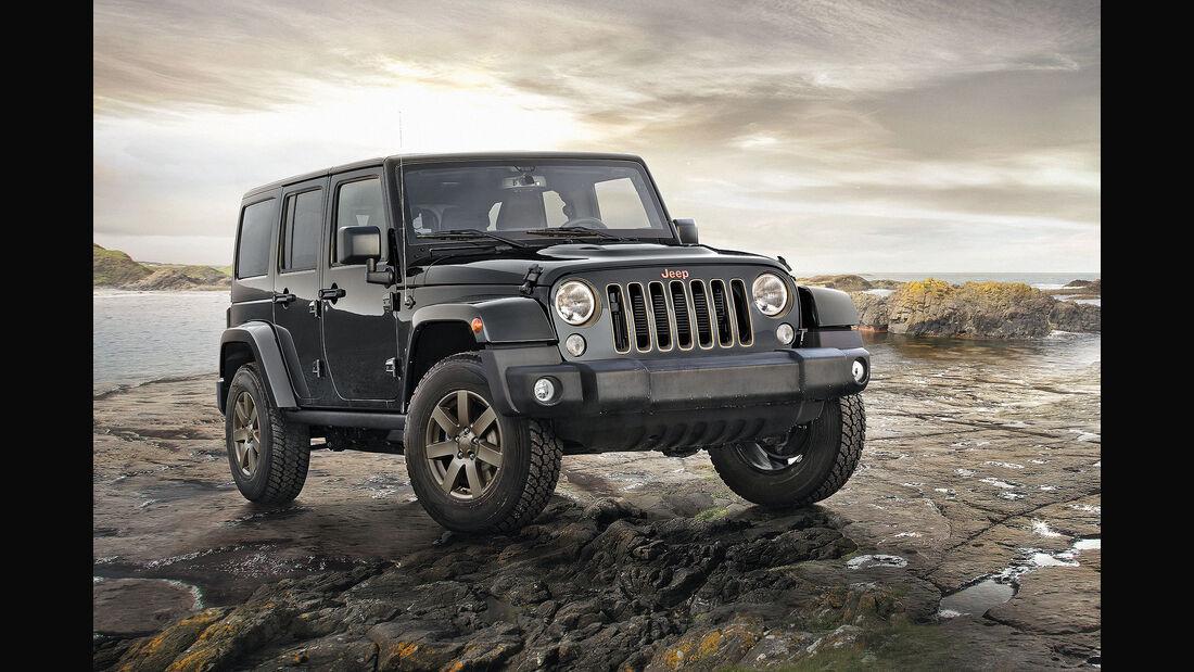 Jeep Wrangler 75th Anniversary Autosalon Genf 2016