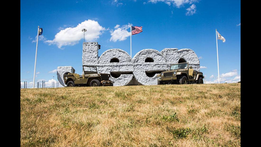 Jeep Wrangler 75th Salute Concept
