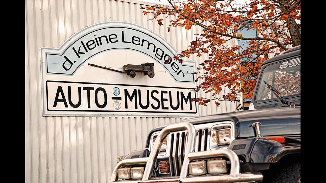 Jeep Wrangler, Auto Museum, Lemgo