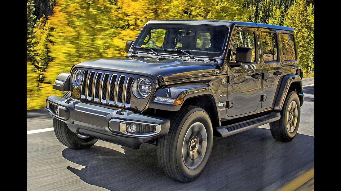 Jeep Wrangler, Best Cars 2020, Kategorie K Große SUV/Geländewagen