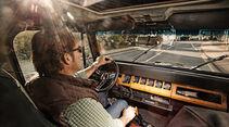 Jeep Wrangler, Cockpit