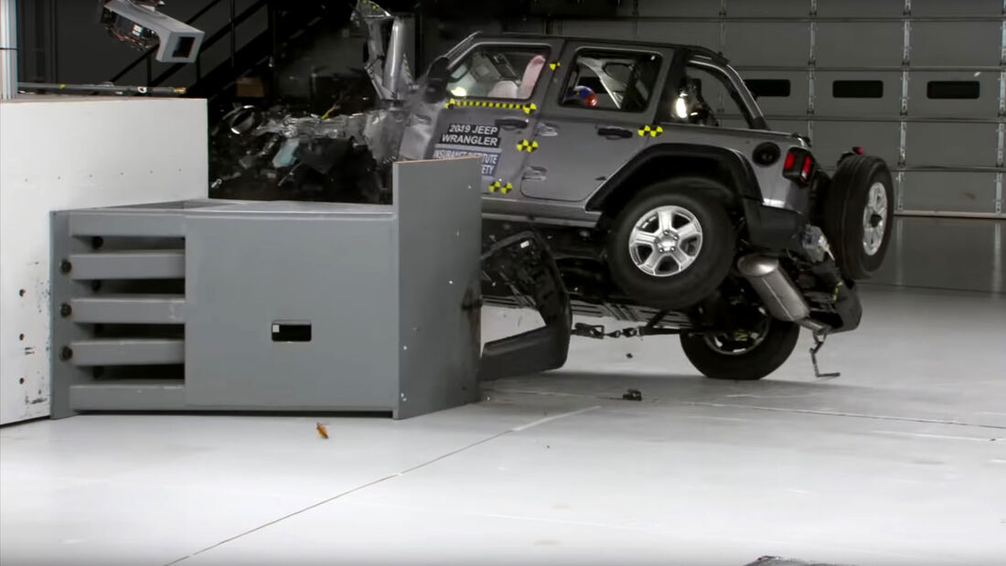 Jeep Wrangler Crashtest