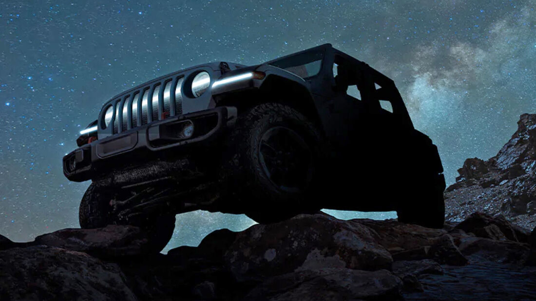 Jeep Wrangler Electric Teaser 2021