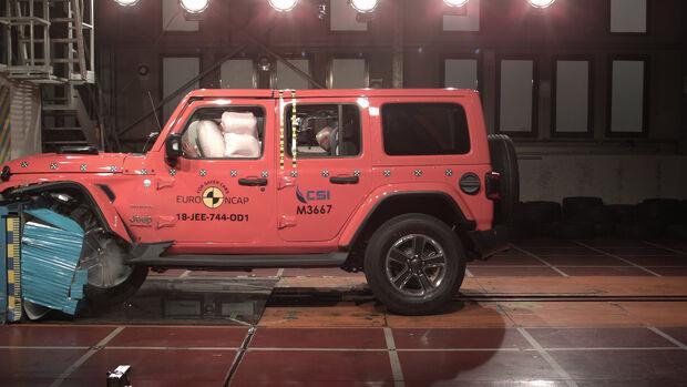 Jeep Wrangler Euro NCAP Crashtest