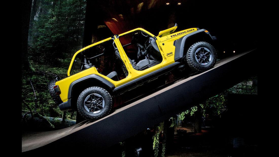 Jeep Wrangler Genf 2018