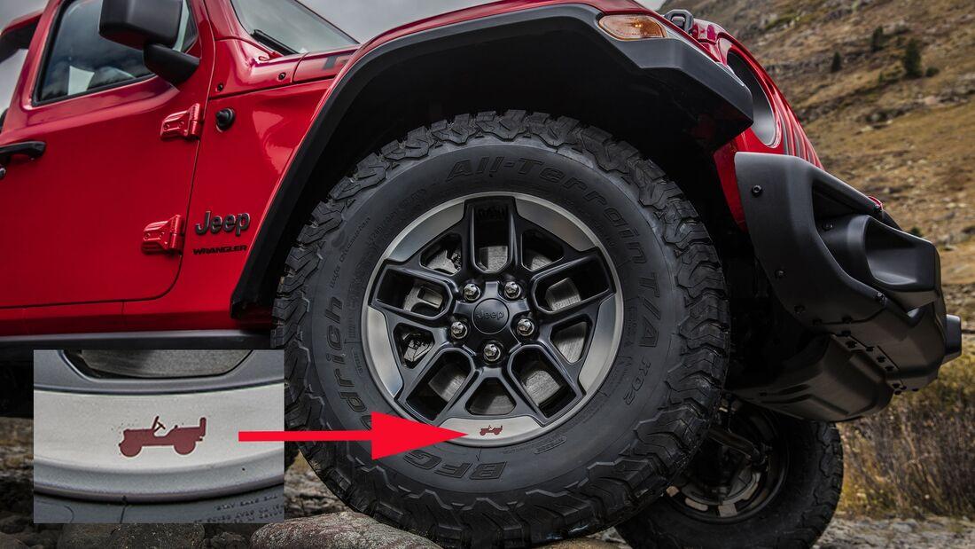 Jeep Wrangler, Gladiator, Renegade Easter Eggs