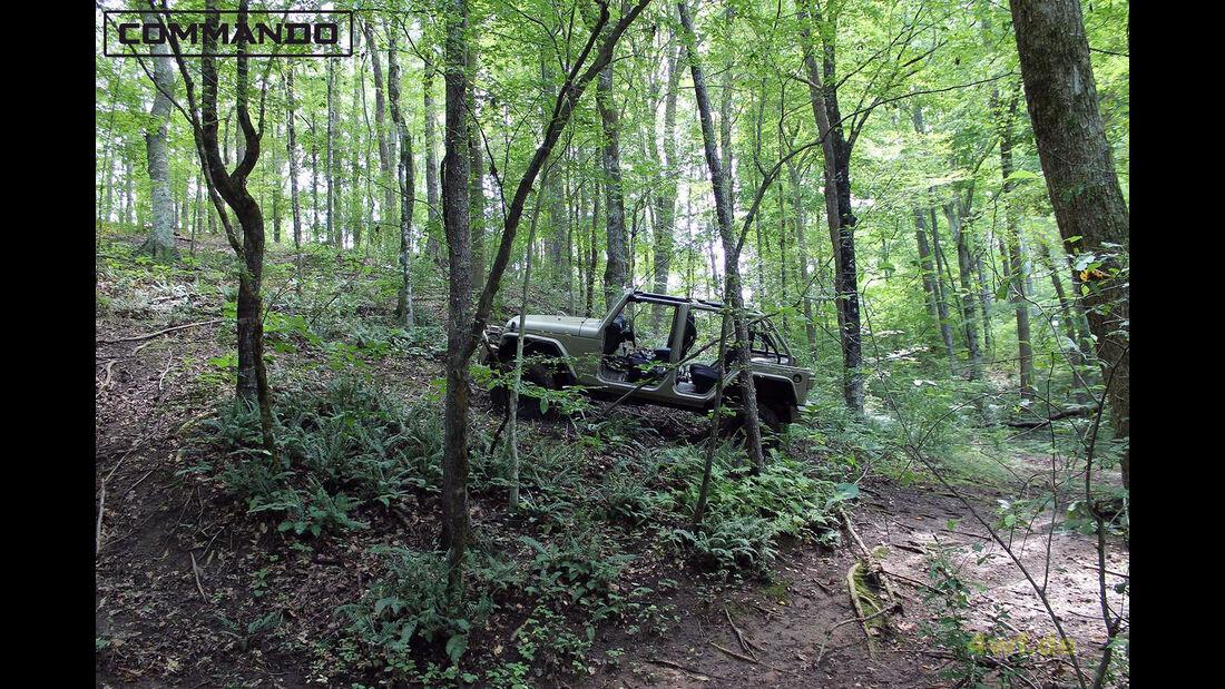 Jeep Wrangler Hendrick Commando