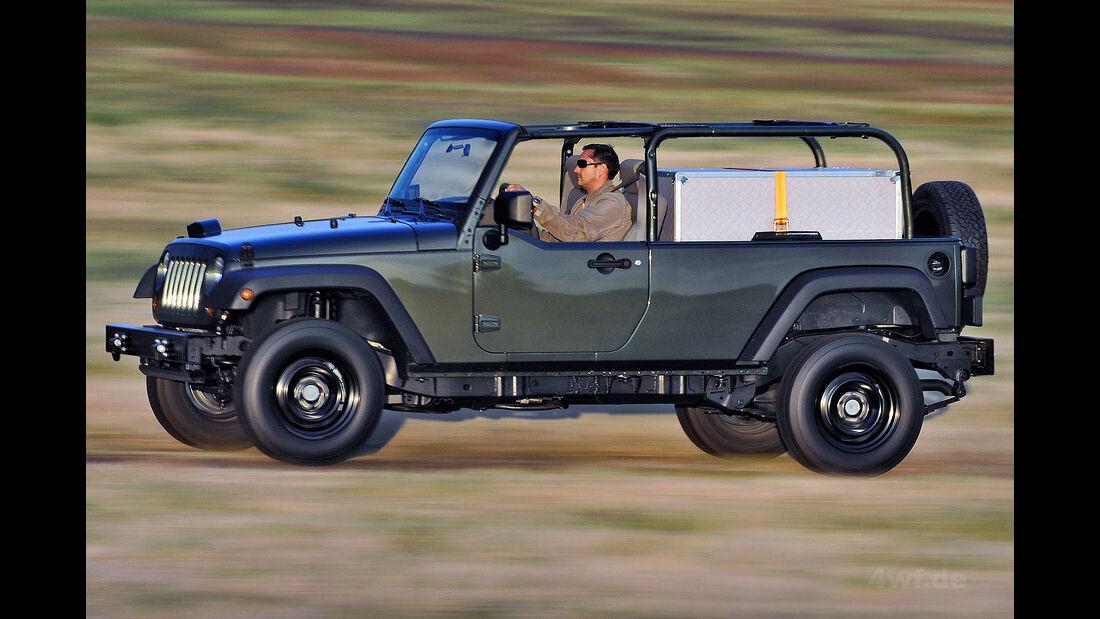 Jeep Wrangler J8 Militärausführung AEV