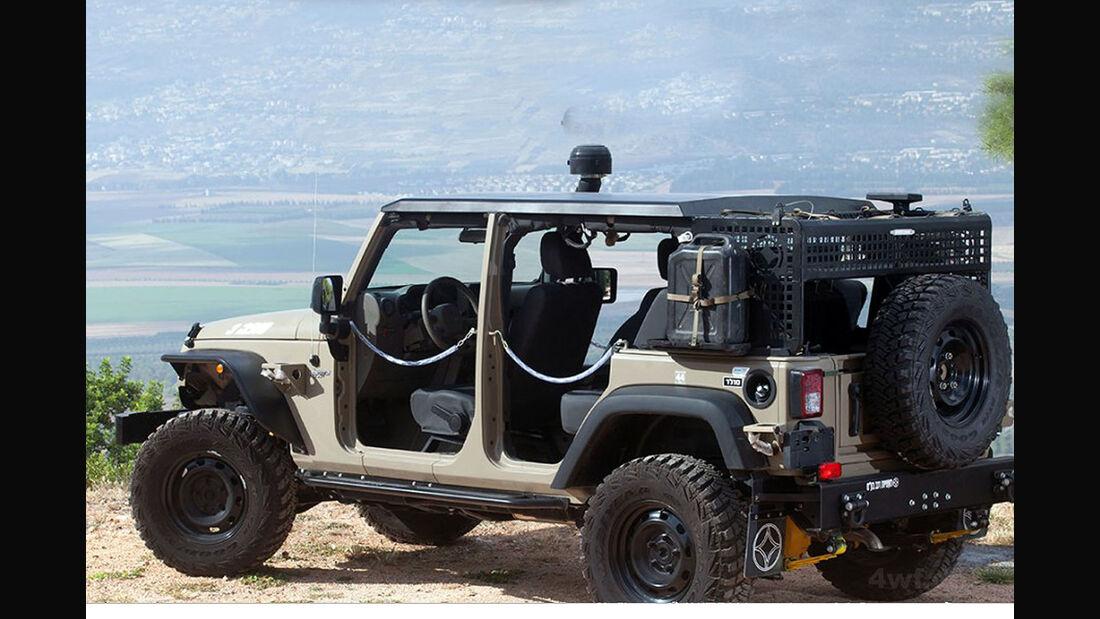 Jeep Wrangler J8 Militärausführung AIL