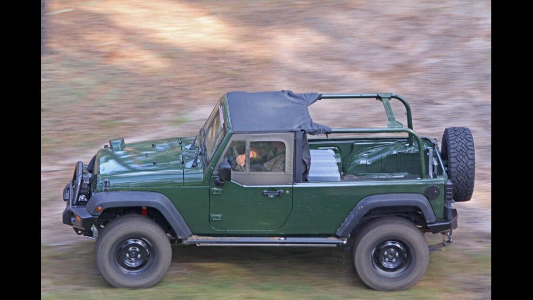 Jeep Wrangler J8 Taubenreuther