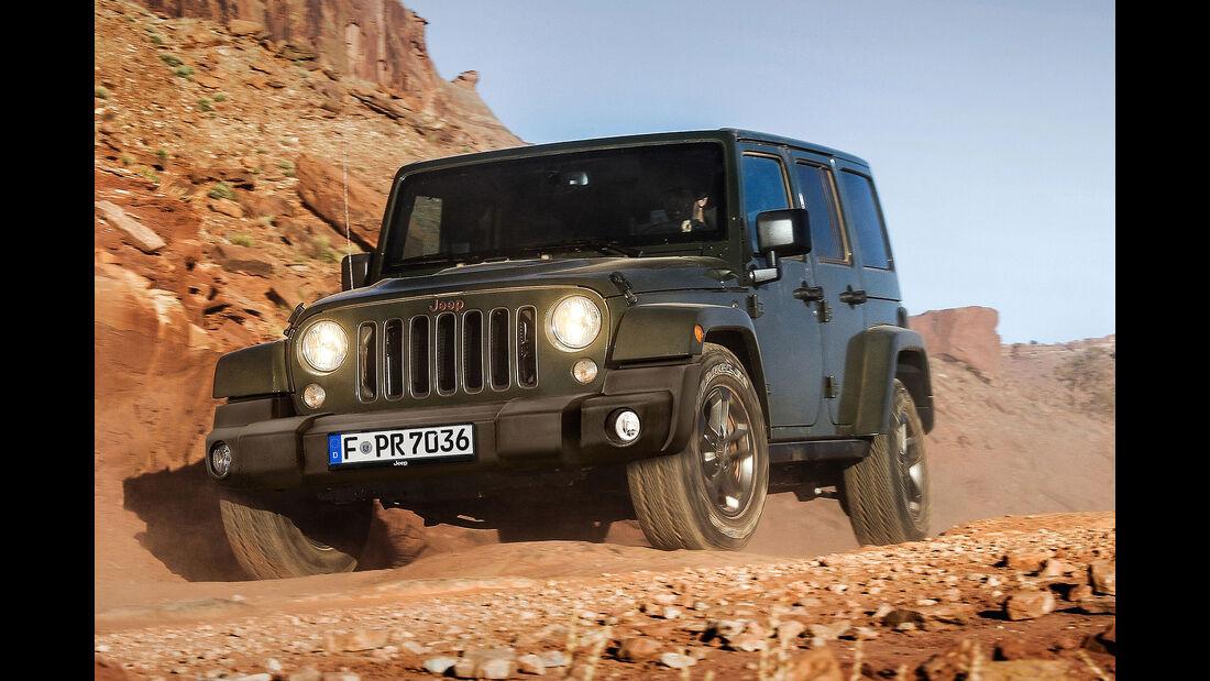 Jeep Wrangler JK Sondermodell 75th Anniversary (2016)