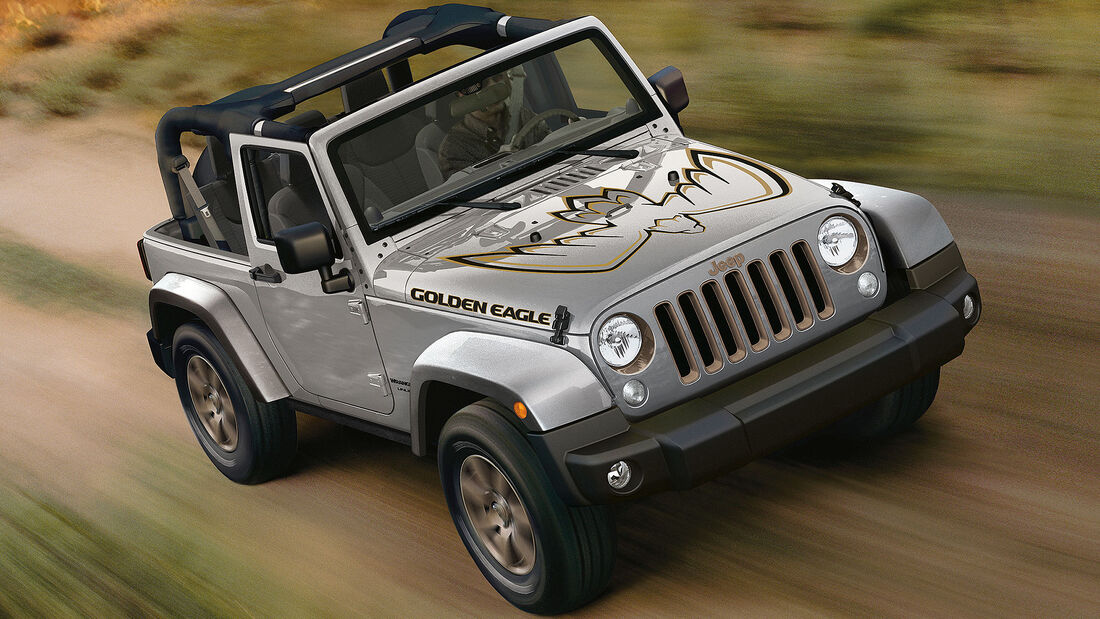Jeep Wrangler JK Sondermodell Golden Eagle (2018)
