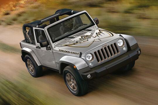 Jeep Wrangler JK Sondermodell Golden Eagle (2018)