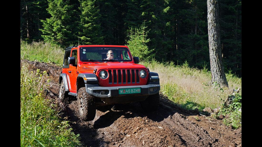 Jeep Wrangler JL Rubicon 2018 Fahrbericht