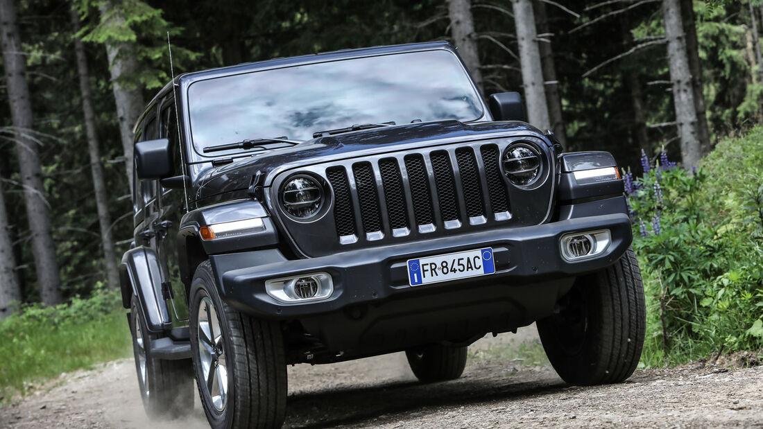 Jeep Wrangler JL Sahara Unlimited 2.2 CRD