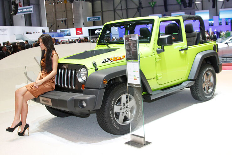 Jeep Wrangler Mountain, Autosalon Genf 2012