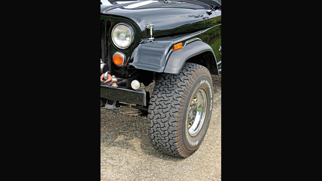 Jeep Wrangler, Rad, Felge