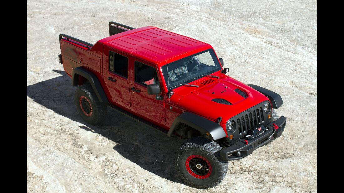 Jeep Wrangler Red Rock Responder Concept 2015