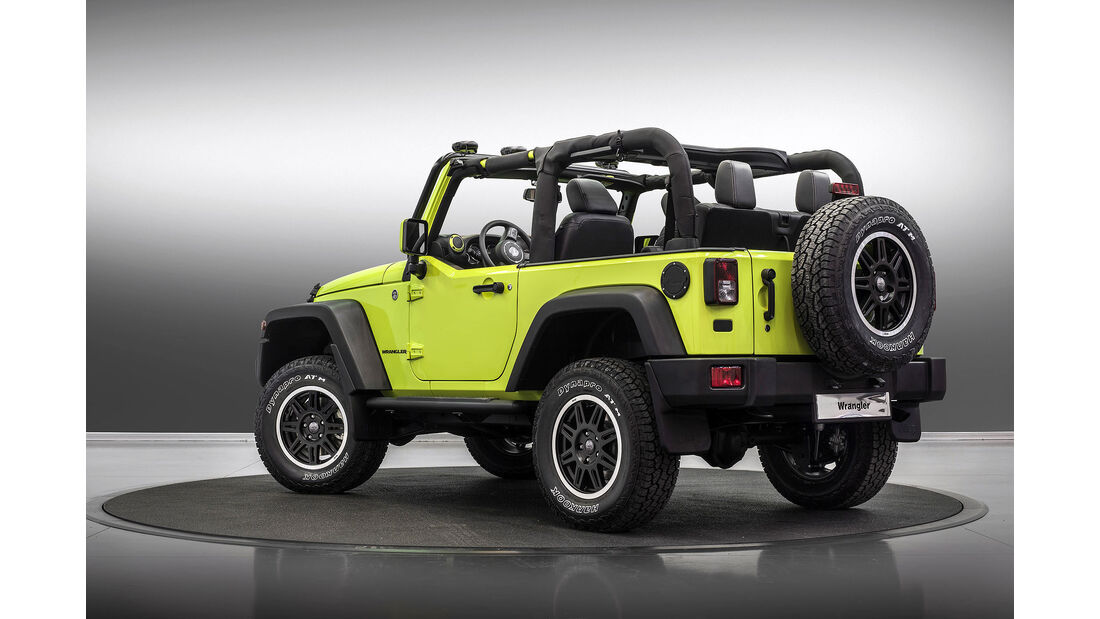 Jeep Wrangler Rubicon MoparOne Autosalon Paris 2016
