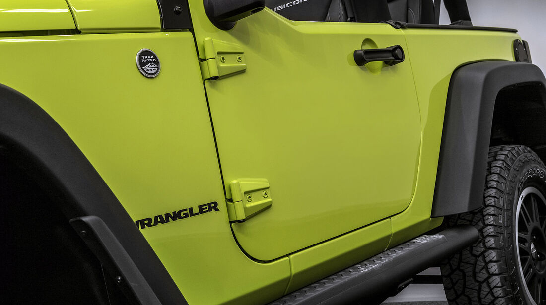 Jeep Wrangler Rubicon MoparOne Autosalon Paris 2016