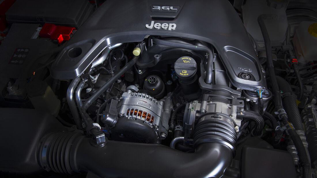 Jeep Wrangler Rubicon V6 Motor