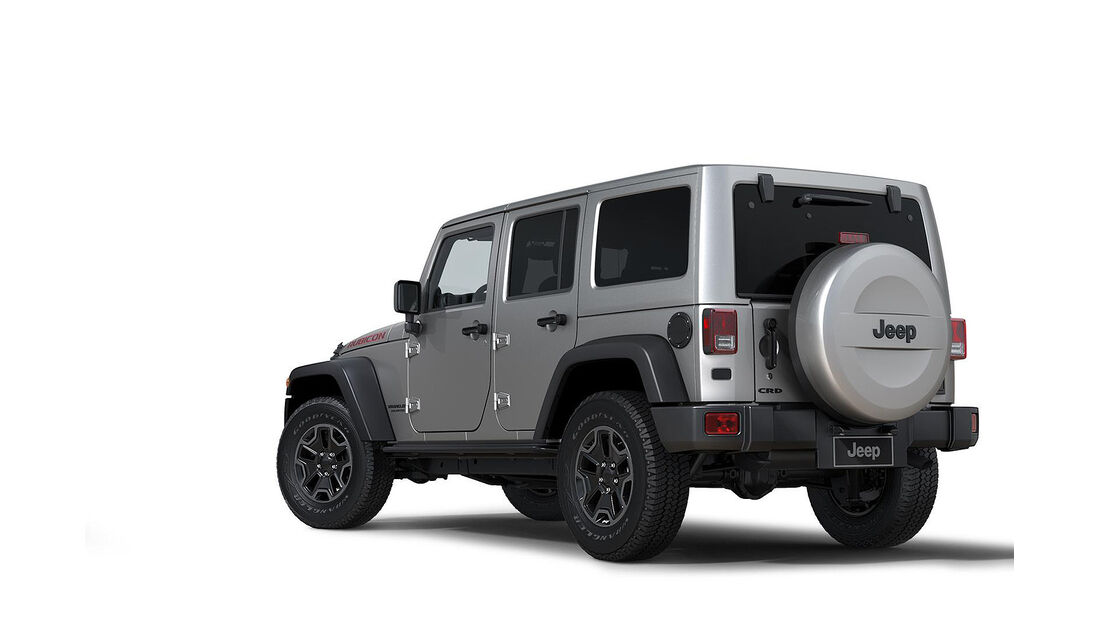Jeep Wrangler Rubicon X Package,Heck03/2014