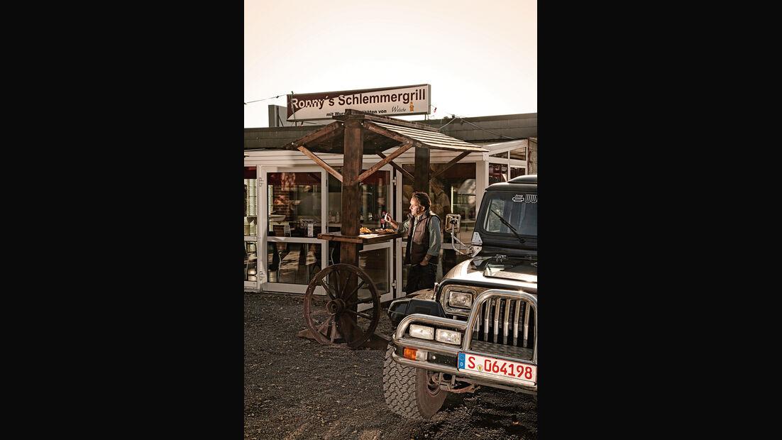 Jeep Wrangler, Schlemmergrill