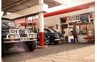 Jeep Wrangler, Tankstelle