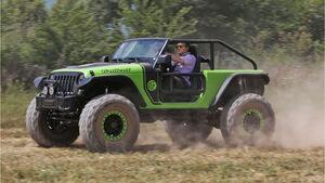 Jeep Wrangler Trailcat Fahrbericht 2016