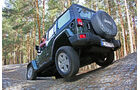 Jeep Wrangler Unlimited 2.8 CRD Sahara Supertest 2011
