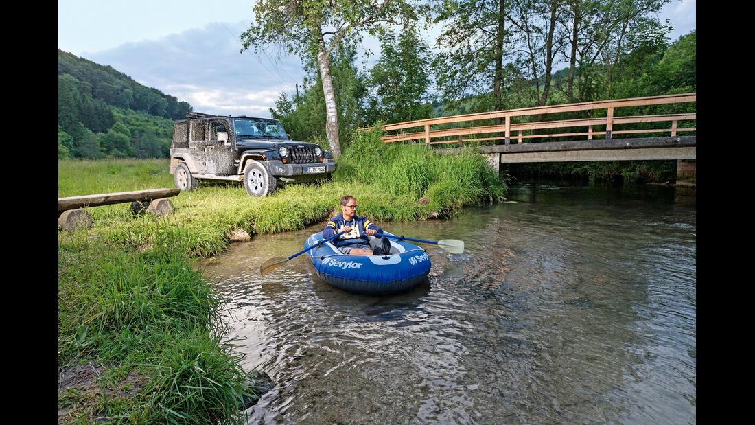 Jeep Wrangler Unlimited 3.6 V6 Sahara, Frontansicht