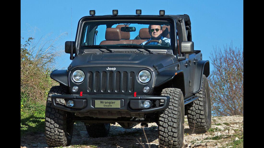 Jeep Wrangler Unlimited Rubicon Stealth Showcar