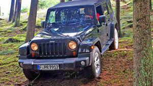 Jeep Wrangler Unlimited Sahara 3.6 Test