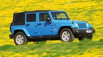 Jeep Wrangler Unlimited, Seitenansicht