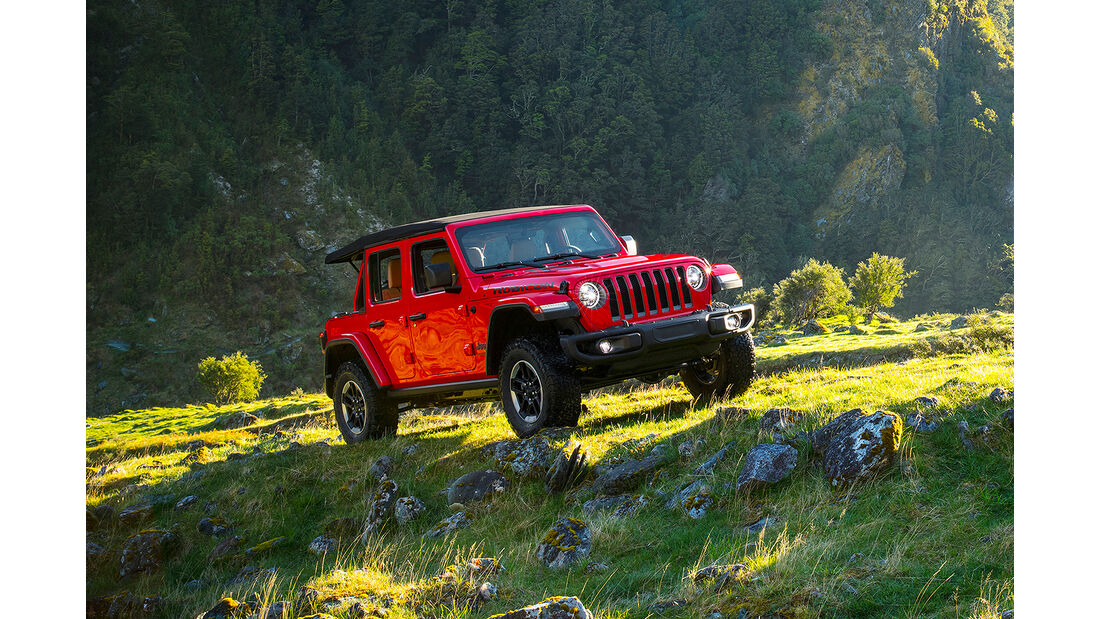 Jeep Wrangler Unlimited (US-Spec)
