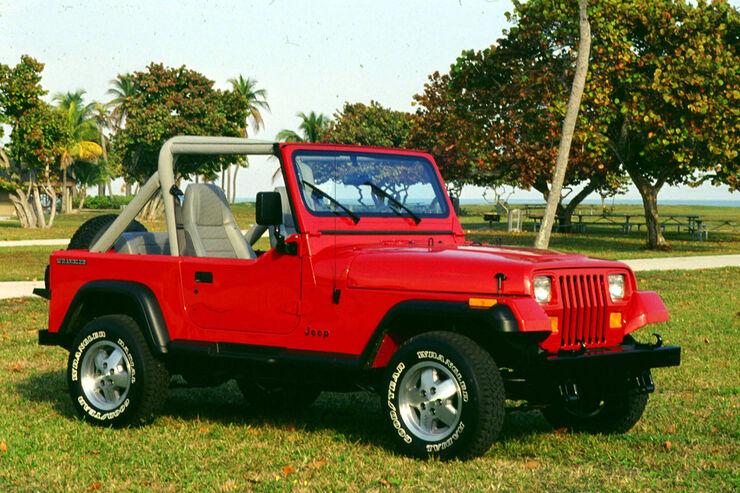 jeep wrangler yj technische daten auto motor und sport. Black Bedroom Furniture Sets. Home Design Ideas