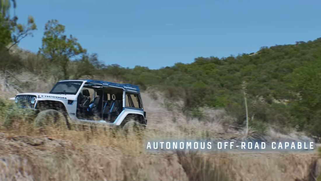 Jeep Wrangler ab 2030 unter Wasser