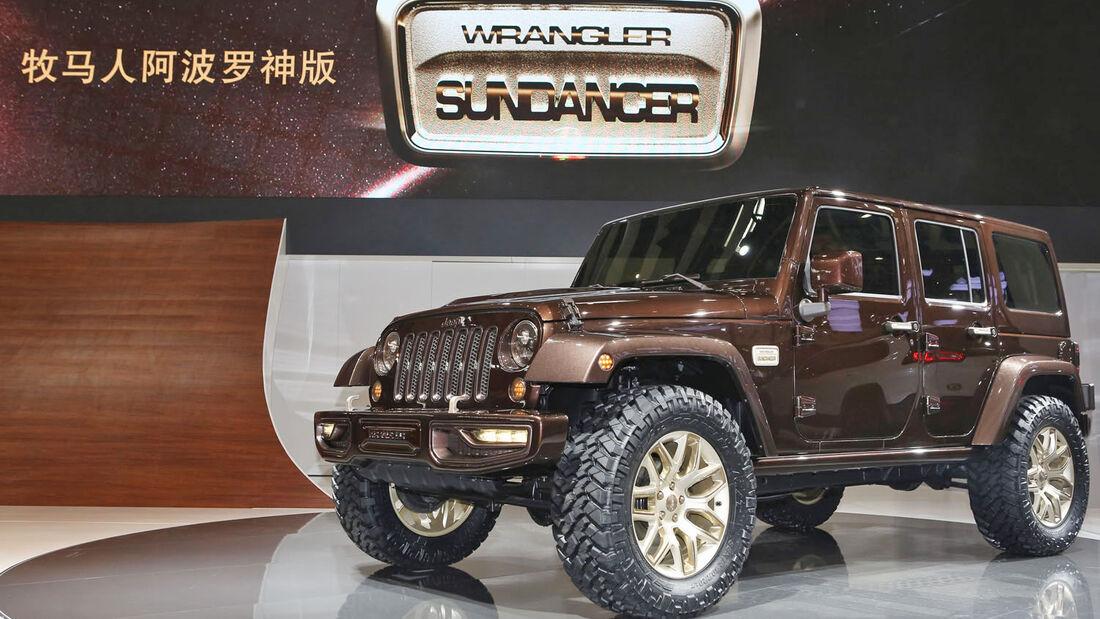 Jeep auf der Peking Auto Show 2014