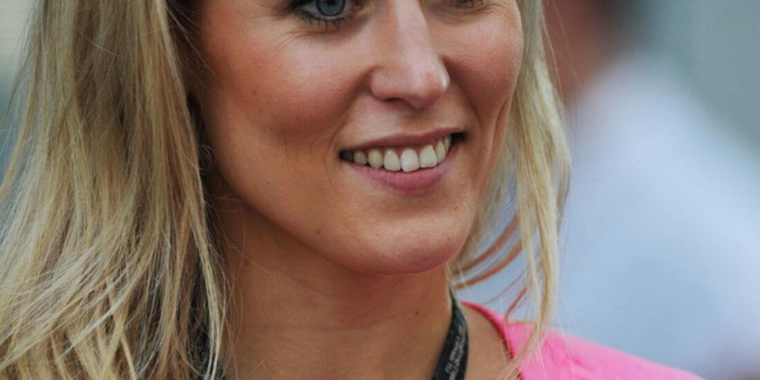 Jennifer Becks (Freundin von Adrian Sutil) - Formel 1 - GP USA - 15. November 2013