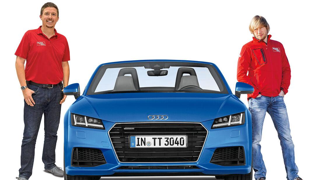 Jens Dralle, Marcus Peters, Audi TT Cabrio
