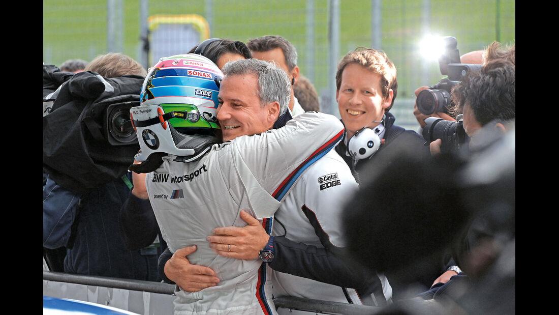 Jens Marquardt, Bruno Spengler, Jubel