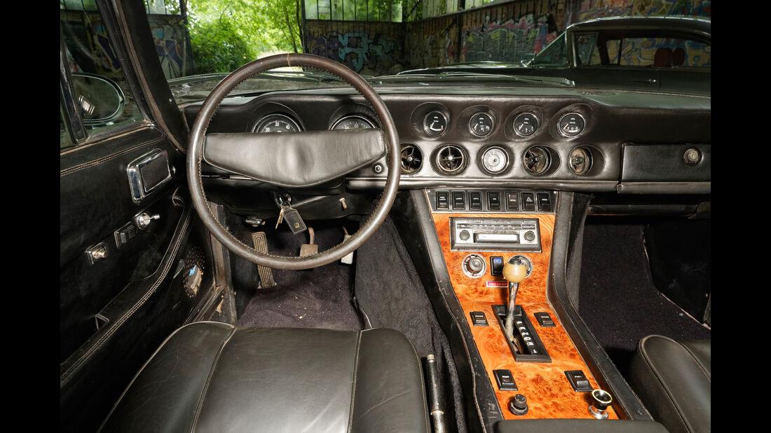 Jensen Interceptor, Cockpit