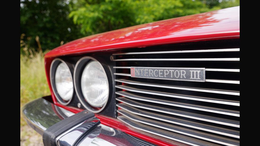 Jensen Interceptor, Kühlergrill