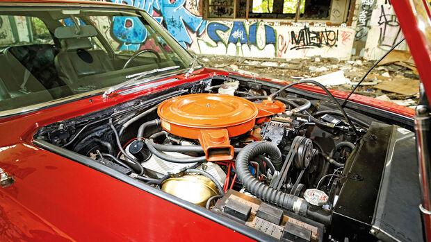 Jensen Interceptor, Motor