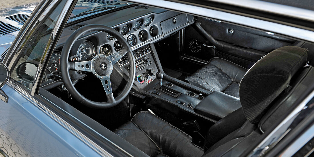 Jensen Interceptor SP, Cockpit